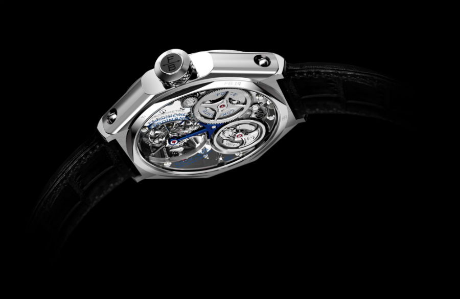 Back view of Chronometre Ferdinand Berthoud FB 1.4
