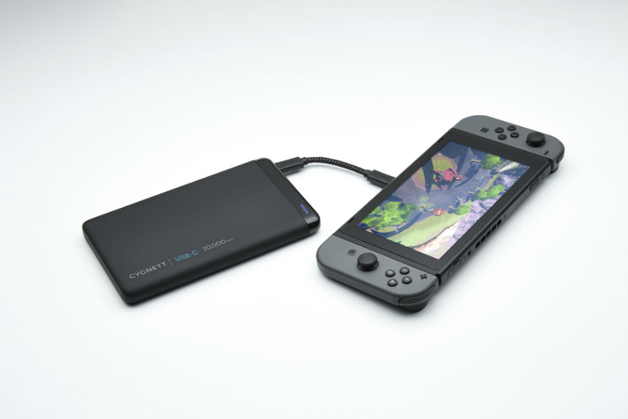 Cygnett USB-C 20K ChargeUp Pro Power Bank charging Switch