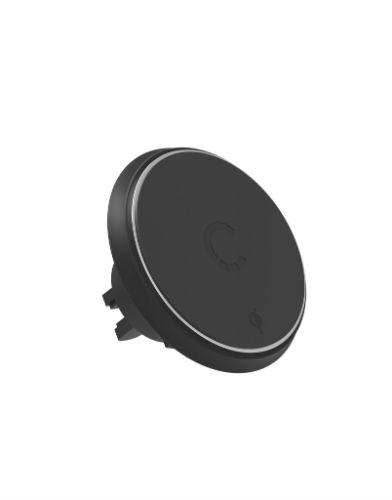 Cygnett MagMount Qi Wireless Car Charger closeup