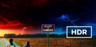Netflix's Stranger Things in HDR