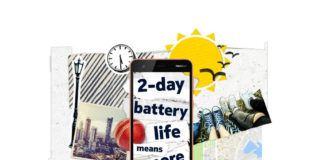 Nokia 2 2-day battery life campaign poster