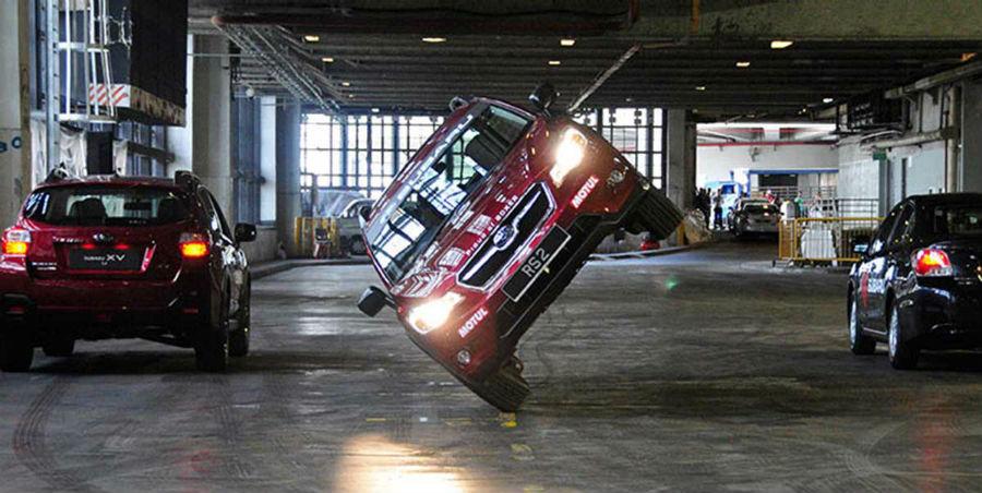 Russ Swift stunt driving
