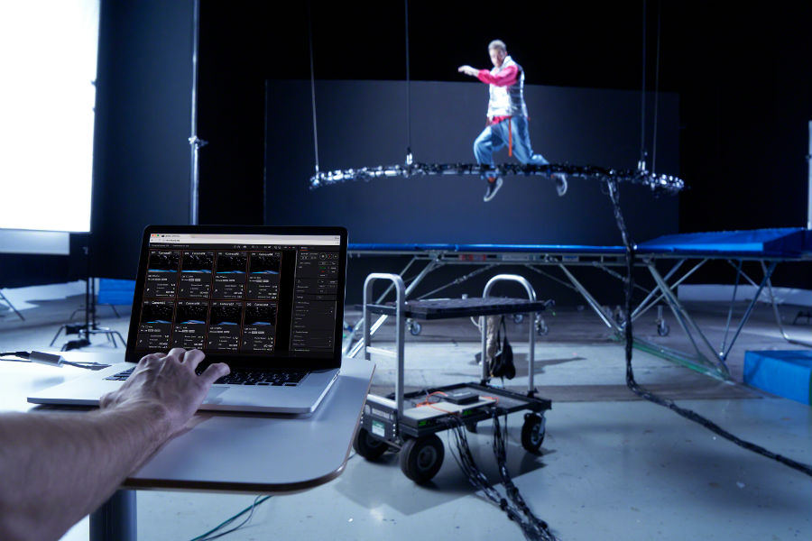 Sony RX0 cameras capturing image of man jumping