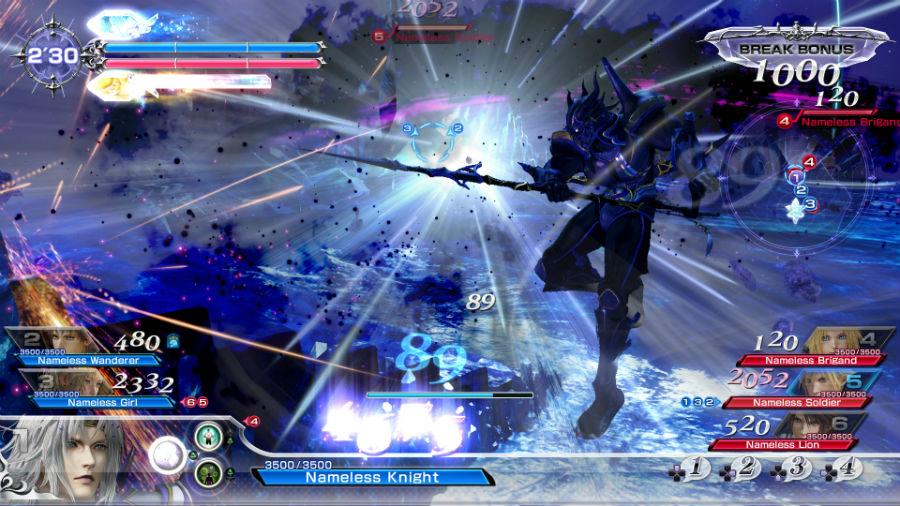 Dissidia Final Fantasy NT battle