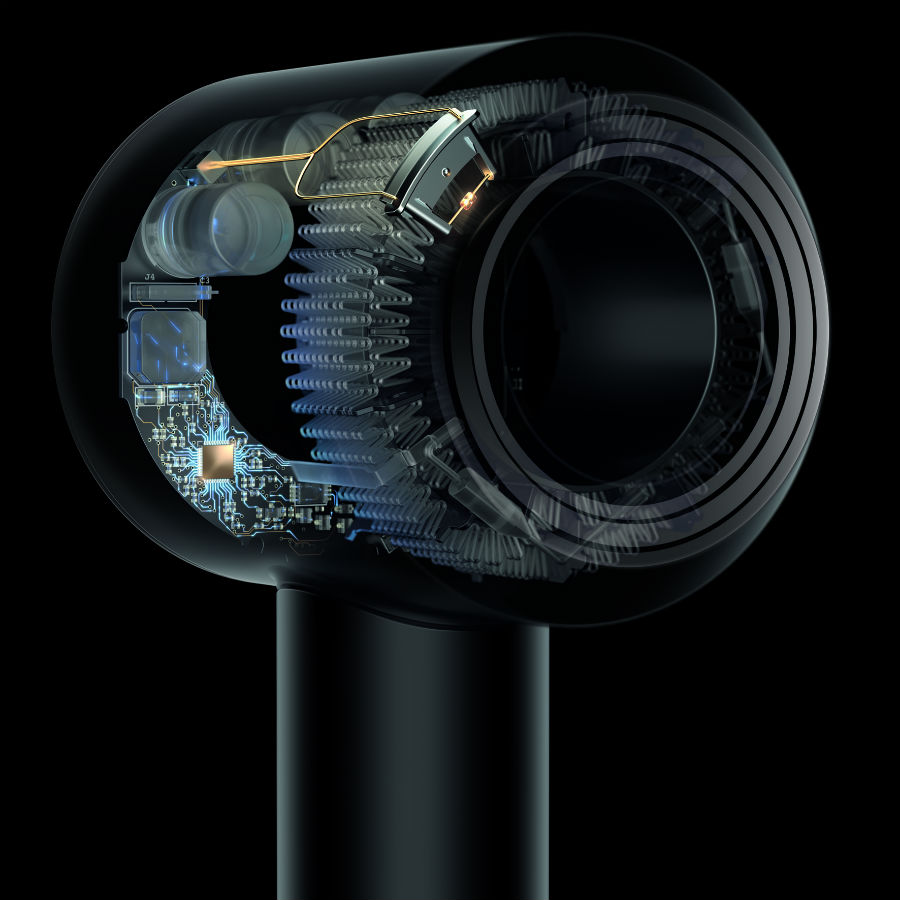 Dyson patented airflow technology