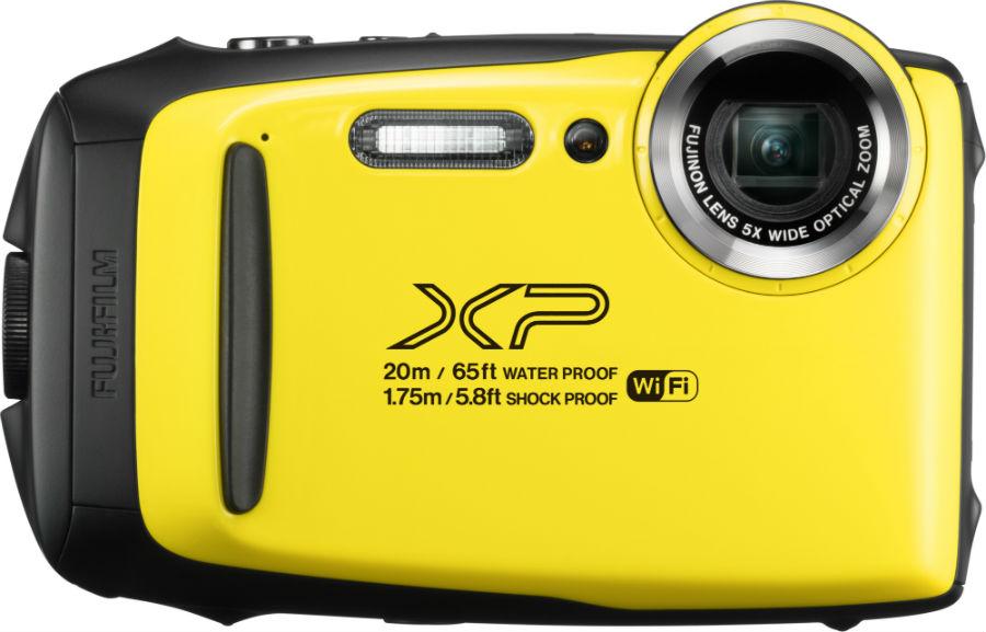 Fujifilm FinePix XP130 in yellow