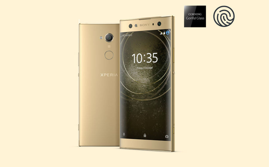 Sony Xperia XA2 Ultra in gold