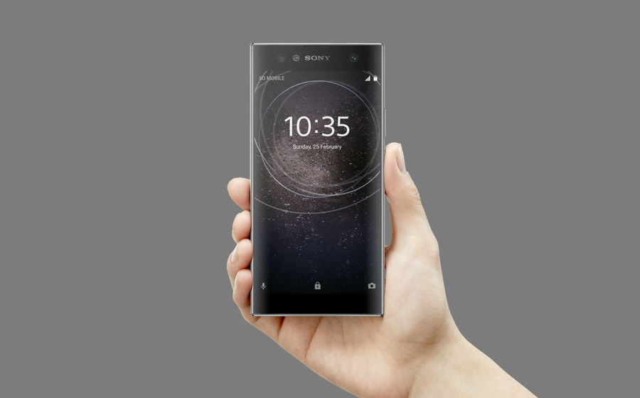 Sony Xperia XA2 Ultra in black