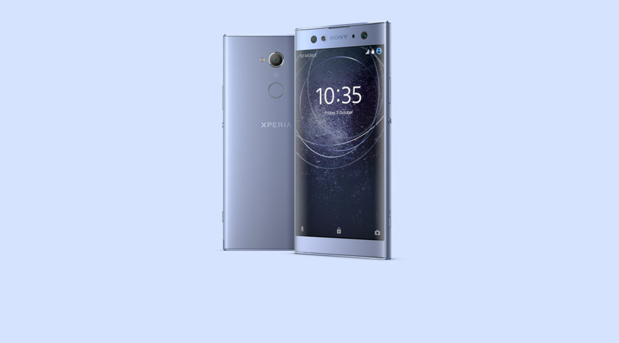 Sony Xperia XA2 Ultra in blue