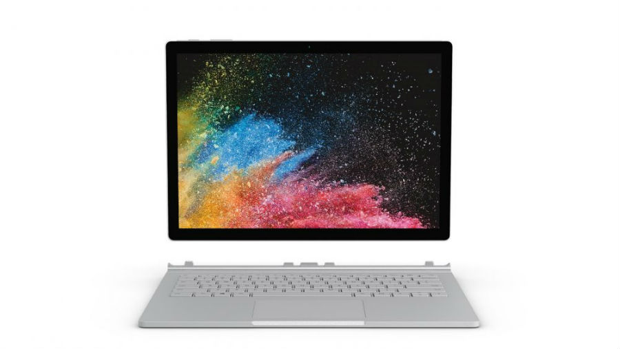 Surface Book 2 front view