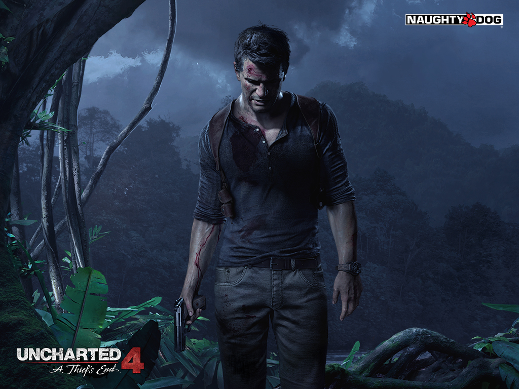 Uncharted 4: A Thief's End official cover image