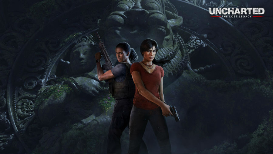 Uncharted: The Lost Legacy official cover image
