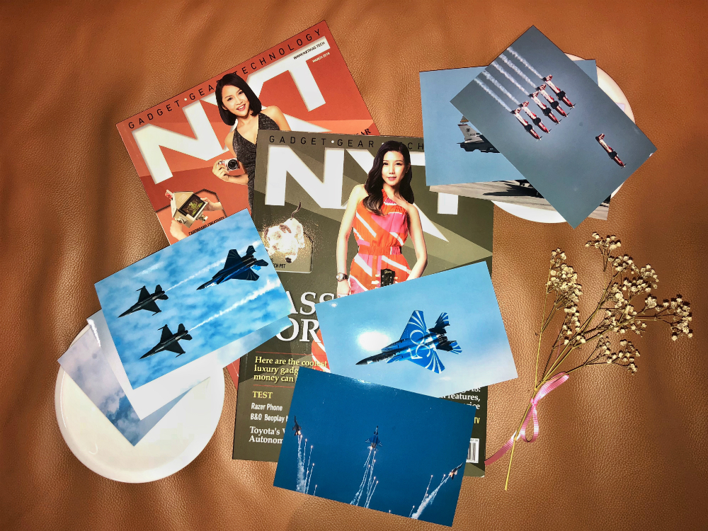 Photos printed with Canon TS8170 with NXT magazines