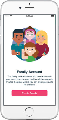 Fitbit Ace family feature