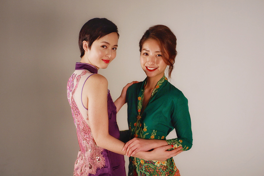 Vanessa and Hong Kong model