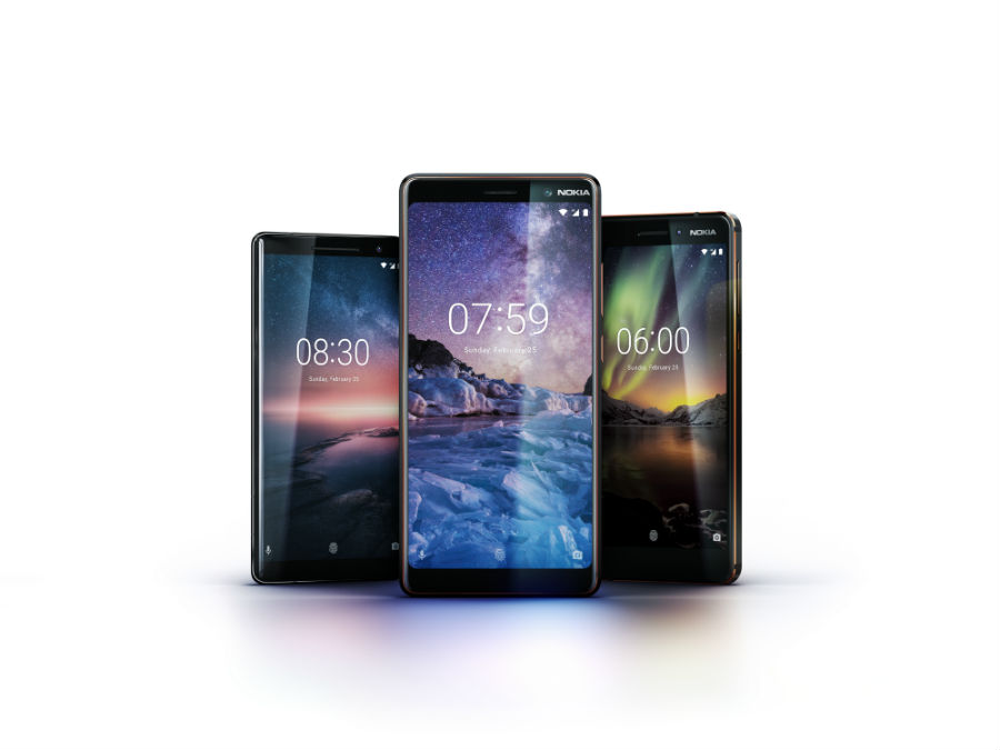 Nokia Android One family