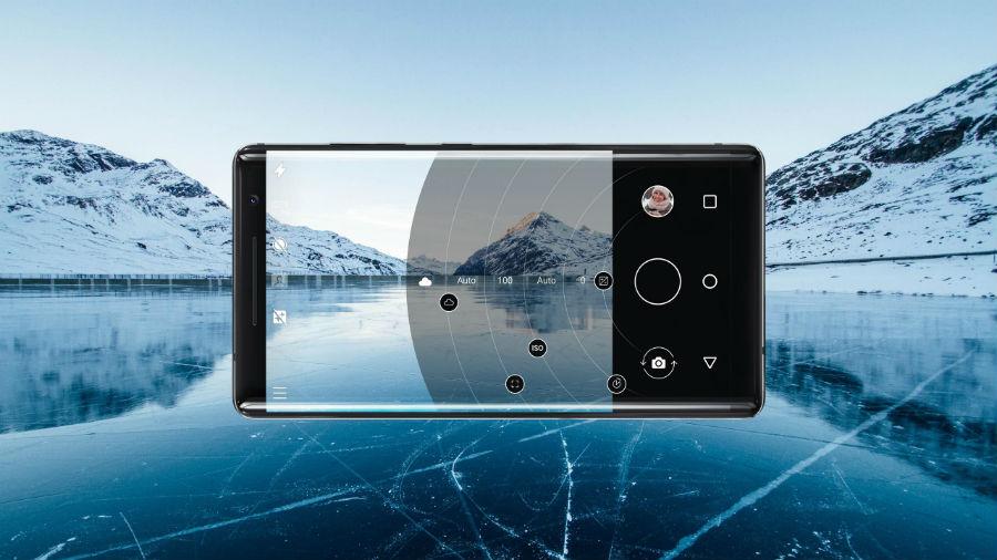 Nokia 8 Sirocco pro camera mode