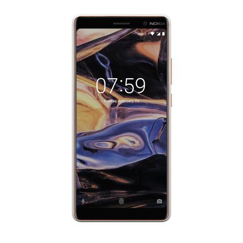 Nokia 7 Plus front view