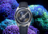 Ulysse Nardin Freak Vision Coral Bay against coral backdrop