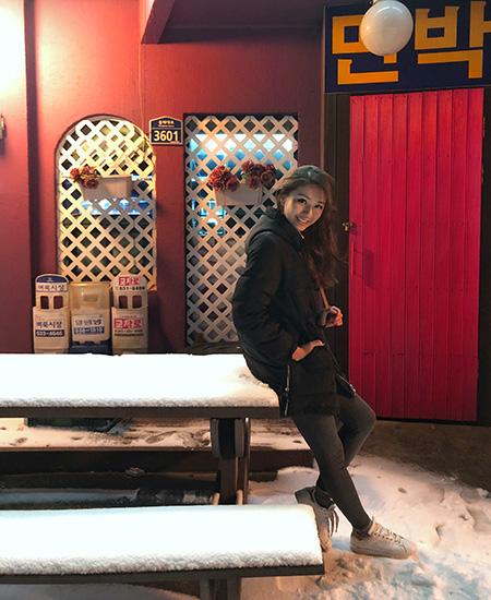 Vanessa in Korea