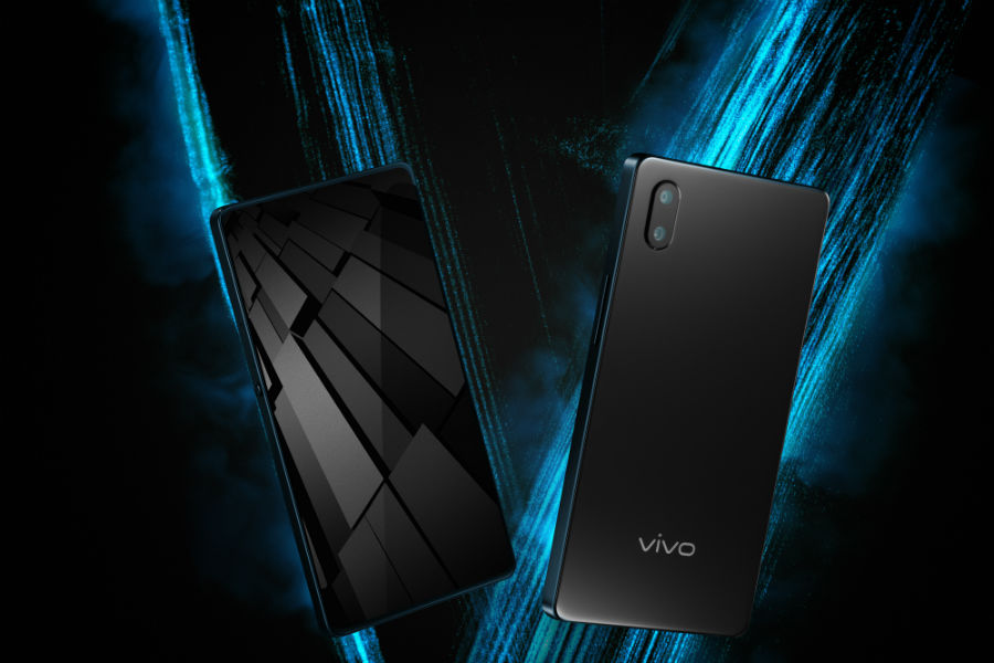 Vivo Apex both front and back view