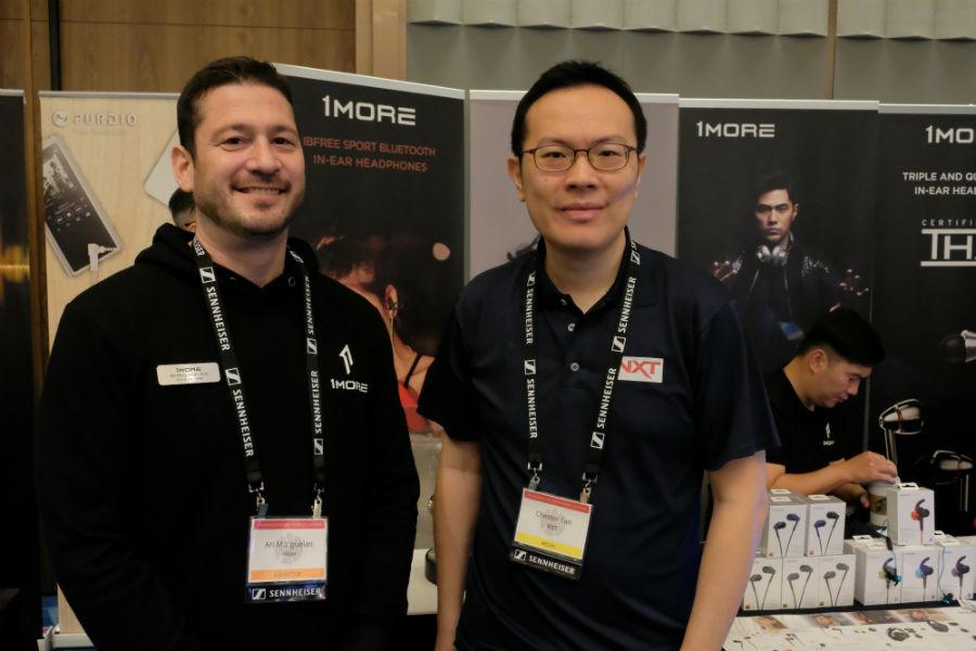 Ari Morguelan And Chester Tan