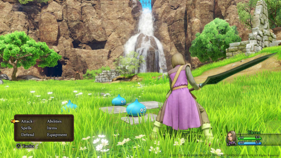 Dragon Quest XI: Echoes Of An Elusive Age combat system