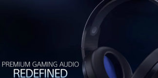 New PlayStation 4 Wireless Headset
