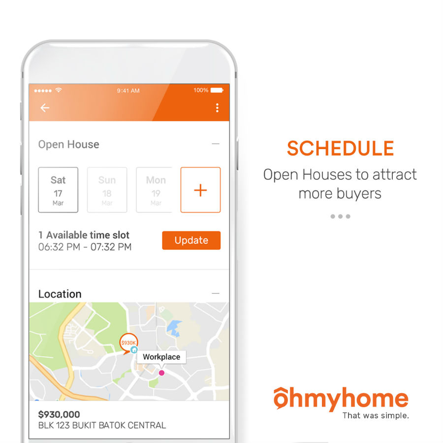 Ohmyhome app screenshot