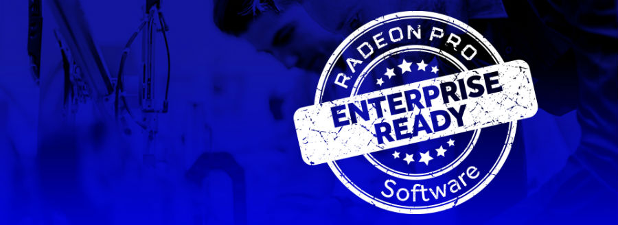 Radeon Pro Software Enterprise Edition 18.Q2 banner