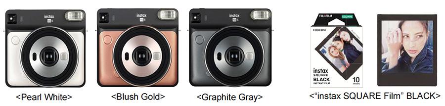 Fujifilm instax SQ6 black frame