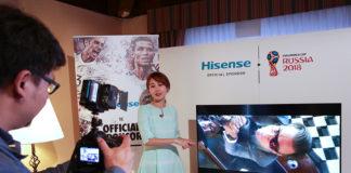 IFA Global Press Conference - Product Showcase - Hisense