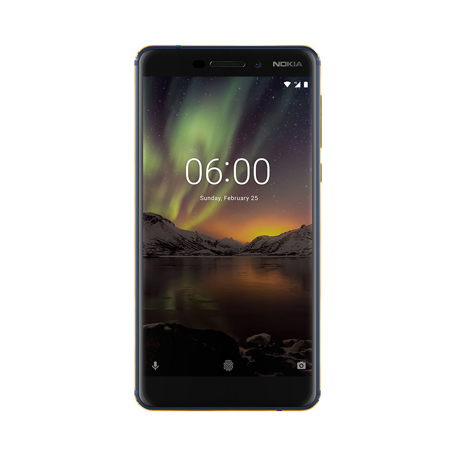 New Nokia 6 front view