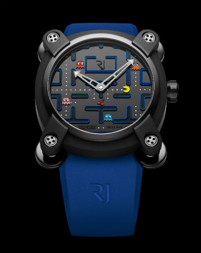 PAC-MAN level III watch front