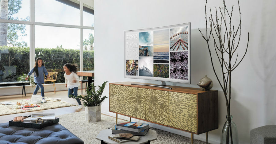 Samsung 2018 QLED TVs Revolutionise The Home Entertainment