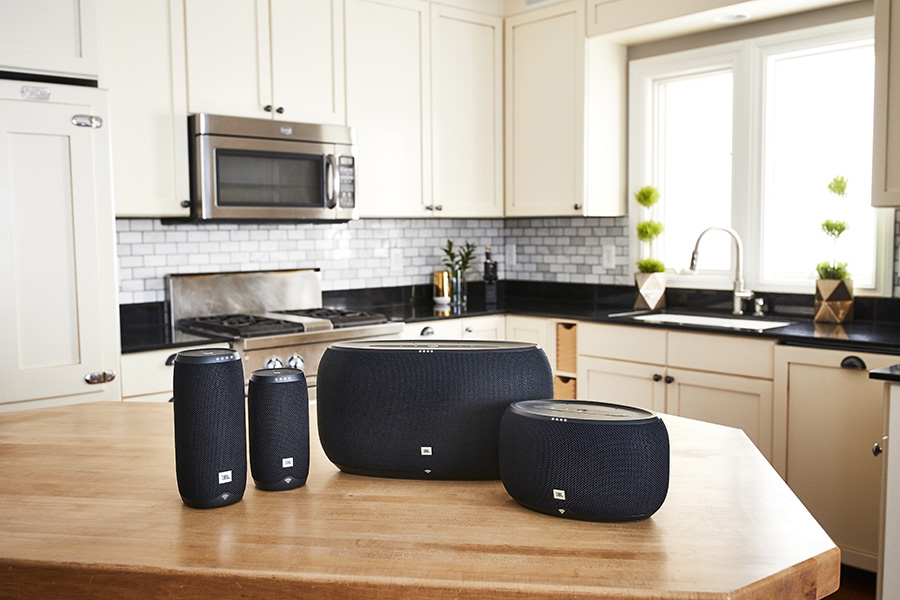 JBL Link in the kitchen