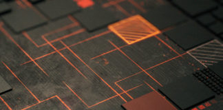 AMD chipset closeup
