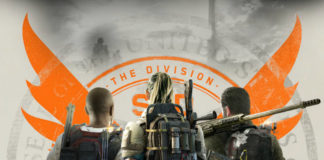 Division 2 three characters posing with back to camera