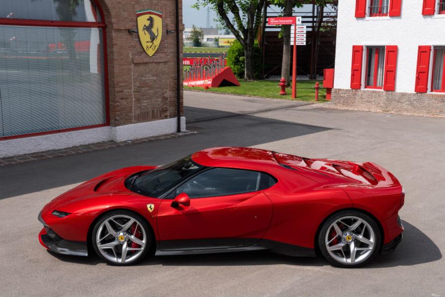 Ferrari S38 side view