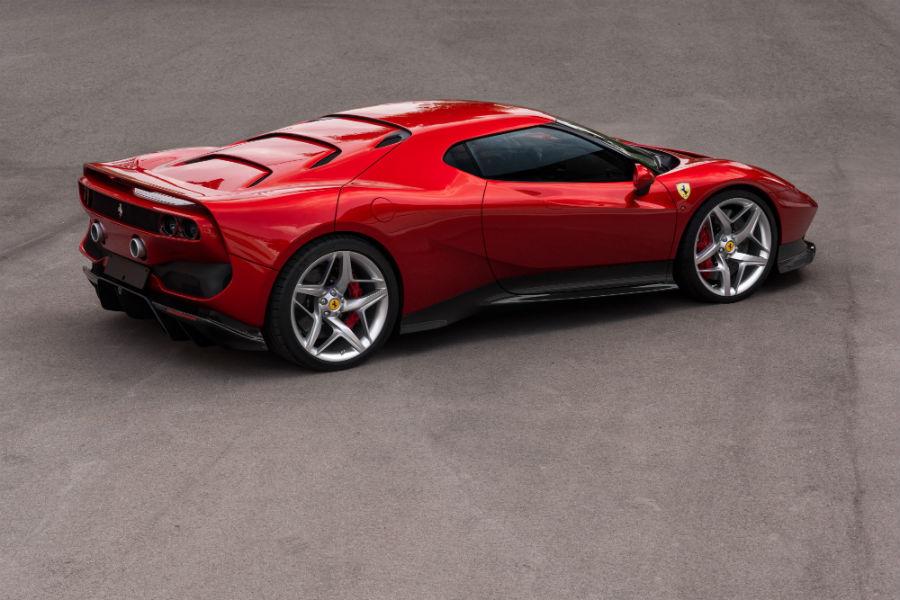 Ferrari SP38 angled back view