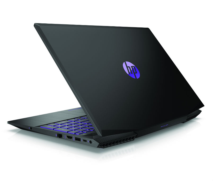 HP Pavilion Gaming back view