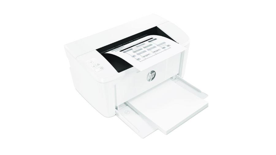 HP LaserJet M15w printing photo