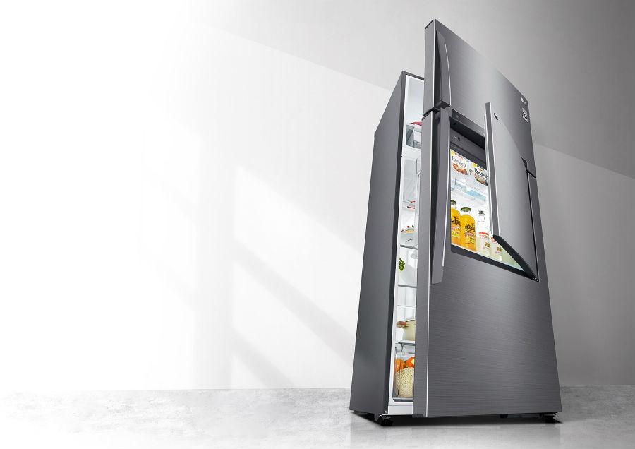 LG door-in-door technology
