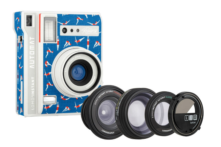 Lomo'Instant Automat Riviera with lenses