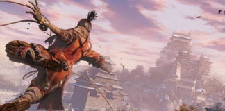 Sekiro jumping down