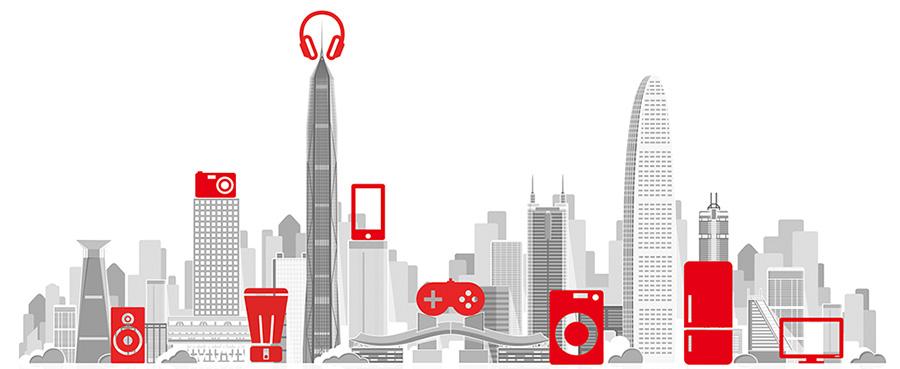 CE China graphic