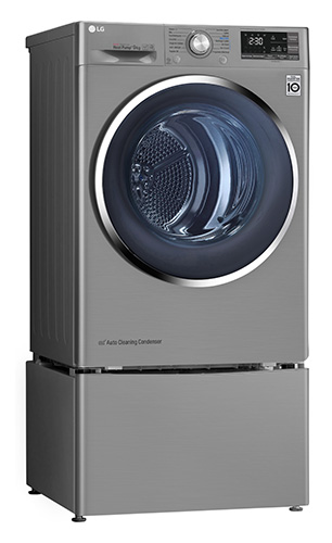 LG Dryer TD-H90SD with Mini Washer