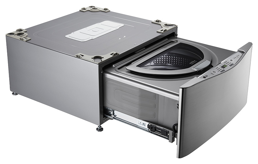 Easy to store and still easy to get clothes cleaned with the T2735NTWV