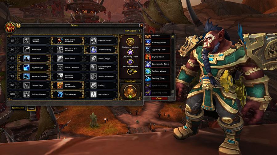Battle for Azeroth pvp update screenshot