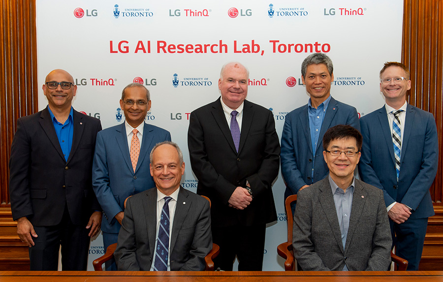 LG's new AI Lab Executives